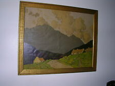 """PAUL HENRY 1876-1958,""""RARE""""ANTIQUE LITHOGRAPHIC PRINT,CONNEMARA, ABOUT 1923"""