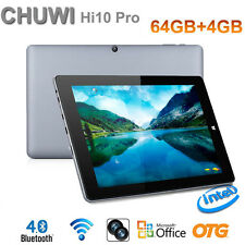 "CHUWI Hi10 Pro 10.1"" Tablet PC Ultrabook Intel 4GB + 64GB Windows 10+Android 5.1"