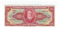 100 Cruzeiros Brasilien 1963 C096 / P.180 - Brazil Banknote