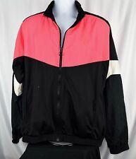 90's 80's Puma Mens Seasonal Wind Jacket Spectrum Blue Black Pink Retro L B8a