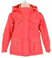 HELLY HANSEN Girls Windbreaker Jacket 9-10 Years Pink Nylon  AS03