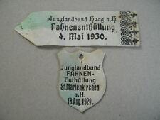 1930 HAAG / Hausruck Fahnenenthüllung ST. MARIENKIRCHEN Junglandbund Ständestaat