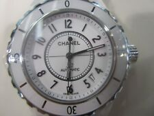 CHANEL MEN'S WATCH AUTOMATIC CERAMIC SAPPHIRE J12 H2909 NEW