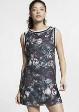 New Women's Nike Tennis Court Floral Printed Tennis Dress Size Small  AO03669