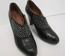 Staccato Black Leather Studded Shoes Boxed Size EU-41/UK-8 - DOW L18