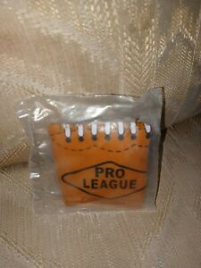 Pro League Football Infalatable Toy Blow Up Brown Sports Ball Plastic New Sealed