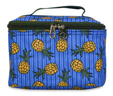 Wholesale Makeup Bags Cosmetic Lot Bulk Make Up Dozen 12 pieces Pineapple