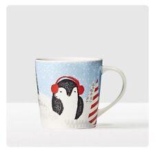 2016 Starbucks Christmas Holiday Mug Cup Penguin