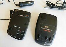 2 for 1 - Cobra Esd-6100 and Bel 620i Radar Detectors w/Laser Detection