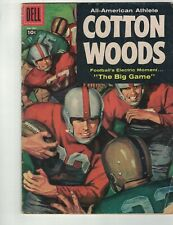 DELL FOUR COLOR #837-COTTON WOODS-1957-CLASSIC RAY GOTTO ARTWORK-RARE VARIANT-VG