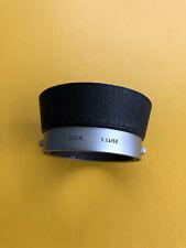 """Leica / Leitz Gegenlichtblende """"XOOIM"""" Lens Hood for 50mm Summilux M."""