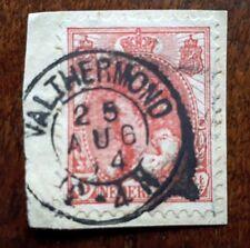 Kleinrond Valthermond op nr 60 op briefstukje (304)