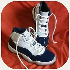 Sz 11 Mens Air Jordan 11 Retro High 82 Navy White Sneakers Shoes