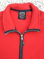 AIGLE - Red - Polartec - Two Pocket - Zip Up - Fleece Jacket - XL