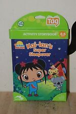 Leap frog Tag Activity Storybook Ni Hao, Kai - Lan: Kai - Lans Super Sleepover