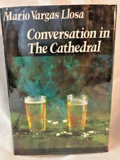Mario Vargas LLosa CONVERSATION IN THE CATHEDRAL  1st edition in dj 1975 REVIEW