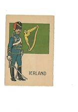 Postcard Ierland Military