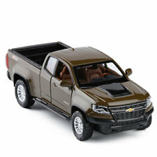 Chevrolet Colorado ZR2 Pickup 1/32 Model Car Diecast Toy Vehicle Kids Gift Brown