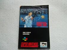 Notice Super nintendo / Snes manuel International Tennis Tour original Booklet *