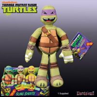 Teenage Mutant Ninja Turtles 9in Talking Sling Shouts Plush with Sound Donnie