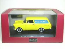 """Opel Rekord P2 Caravan 1960 """"wasche Schnelldienst"""" Starline 1/43"""
