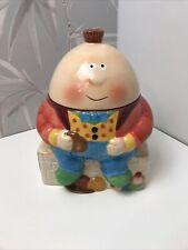 More details for collectible vintage rayware humpty dumpty cookie jar read description