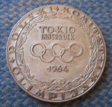 PARTICIPANT MEDAL OLYMPIC TOKYO INNSBRUCK 1964 TEAM NOC POLAND VERY RARE