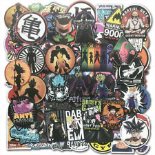100Pcs Anime Dragon Ball Z Super Saiyan Goku Stickers Bomb Decal Pack Skateboard