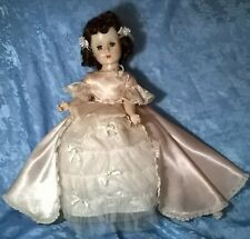 "Vtg 1950's ""American Character"" ""Sweet Sue"" Doll.Hp.""Ac""Sat in Gown.18"" H.Vg.Cond"