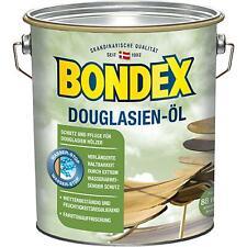Bondex Douglasien Öl für Gartenmöbel Zäune Terrassendielen Holzschutz 4 Liter