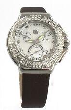 CAC1310.FC6221 Tag Heuer Formula 1 Chrono Diamond Ladies Quartz Pearl  Watch