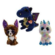 TY Beanie Boos - WINTER 2017 Releases SET of 3 (Medium 9 inch) (Blitz, Dexter+1)