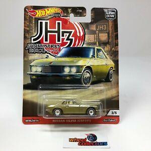 SALE!  Nissan Silvia * Green * Hot Wheels Japan Car Culture * HB12