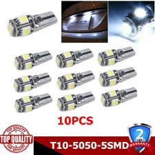 10x T10 Led Canbus Error Free 5 SMD Car Side Wedge light Bulb White 168 194  LB