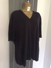 COS NAVY SLOUCH TOP SIZE LARGE 12/14