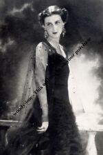 "mm728 - Princess Marina Duchess of Kent - Royalty photo 6x4"""