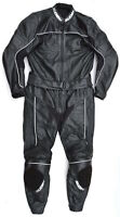 Neuwertige SUOMY Gr. 52 Zweiteiler Lederkombi schwarz Leather Suit