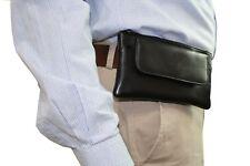 I phone 7 8 X, Samsung Galaxy X S 9 Smart Phone Case Leather Waist Belt Wallet