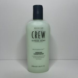 American Crew Citrus Mint Cooling Conditioner for Hair & Scalp 8.4 oz Summer