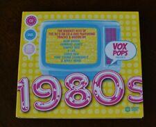 Vox Pops Presents 1980s - Biggest Hits of 80s on CD & DVD / New Order, Chris Rea