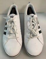 adidas NEO Men 10.5 M US Pace VS Fashion Sneakers Shoes White Black AW4594
