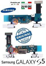 Flex Usb DOCK Ricarica GALAXY S5 G900F Connettore Carica MICROFONO per Samsung