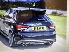 AUDI Private Number Plate on Retention S16APU Saying S1 GAP U