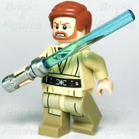 New Star Wars LEGO® Obi-Wan Kenobi Jedi Master Minifigure 75040 Genuine