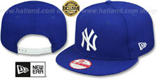 Yankees 'TEAM-BASIC SNAPBACK' Royal-White Hats by New Era