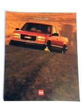 1996 GMC Truck Sierra Pickup Sales Brochure Book Catalog