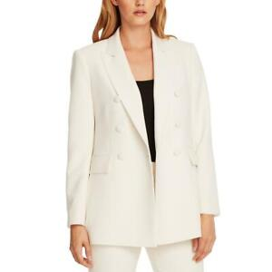 Vince Camuto Womens Double-Breasted V-Neck Professional Blazer Jacket BHFO 6960