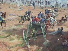 The Battle of Gettysburg July 1 to 3, 1863 L. Prang Color Lithograph