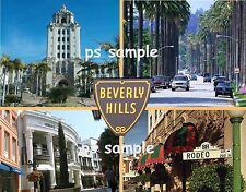 California - BEVERLY HILLS - Travel Souvenir Flexible Fridge Magnet