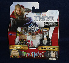 Marvel MiniMates 53 Thor: The Dark World THOR & MALEKITH Action Figure 2 PK
